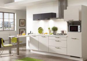 kleine rechte keuken